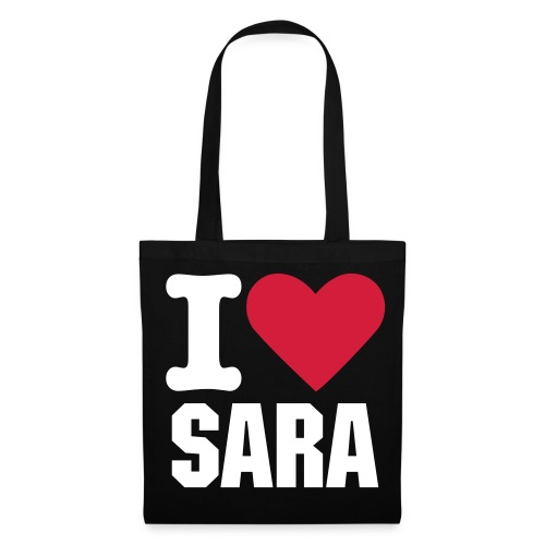 i love sara - Tote Bag