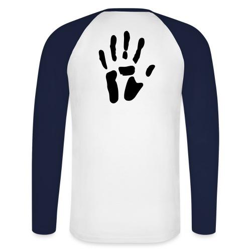 I got you - Langermet baseball-skjorte for menn