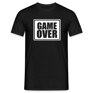 Shirt Game over - Männer T-Shirt