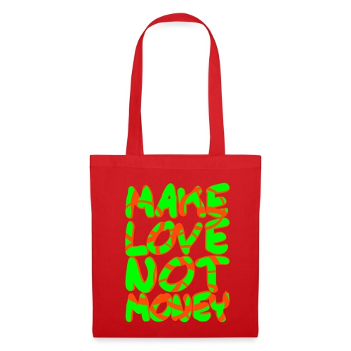 make love stofftasche - Stoffbeutel