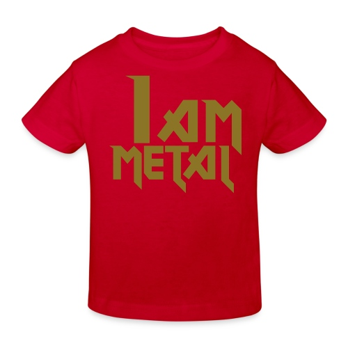Metal T-Shirt - Kids' Organic T-Shirt