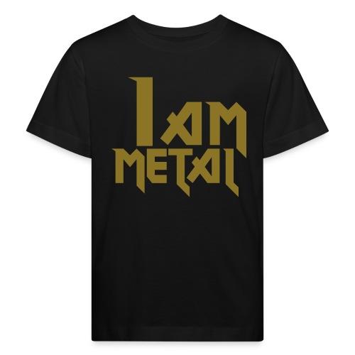 Metal Black Kids Organic SS T-Shirt - Kids' Organic T-Shirt
