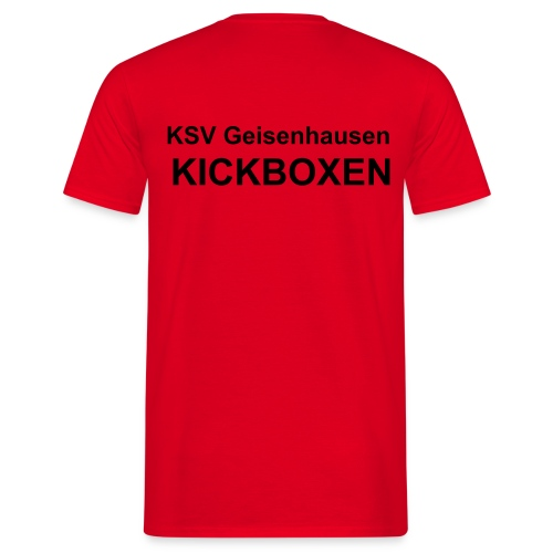 T-Shirt KSV Text - Männer T-Shirt