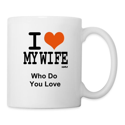 I Love My Wife Mug - Mug