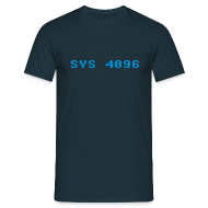 T-Shirts ~ Men's T-Shirt ~ SYS 4096
