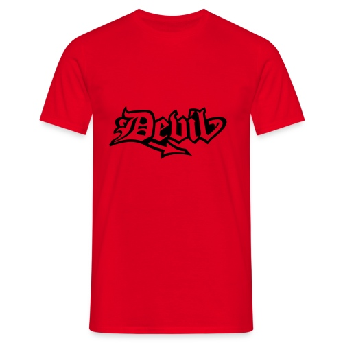 DEVIL - T-shirt Homme