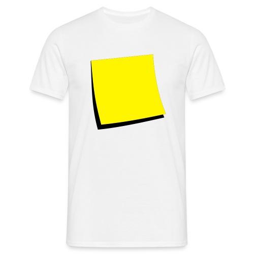 T-skjorte for menn - Skrivbart felt - T-skjorte for menn