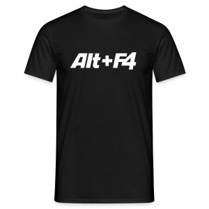 Shirt alt+F4 Men - Männer T-Shirt