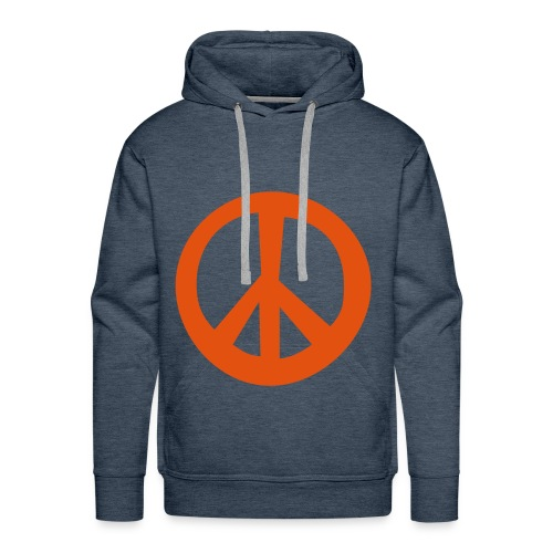 le peace and love - Sweat-shirt à capuche Premium pour hommes