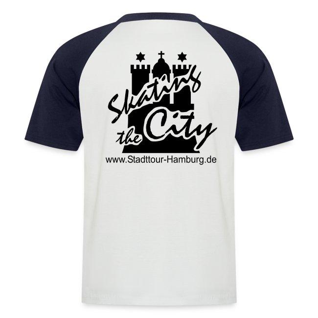 Baseball-Shirt, Logo hinten