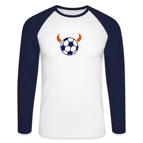 Fußball-Teufel - Männer Baseballshirt langarm