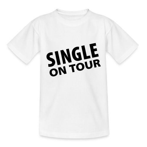 Single - shirt weiss - Teenager T-Shirt