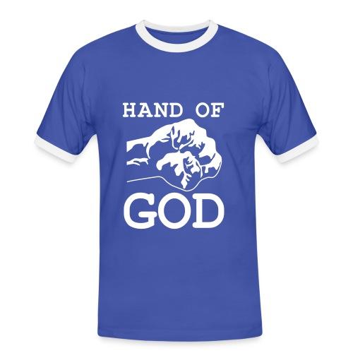 Hand Of God - Men's Ringer Shirt
