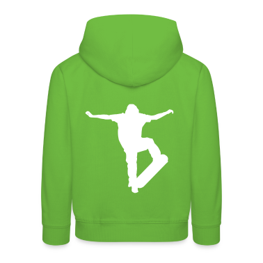 Verde Skater - Skateboard - Skating Pullover bambini