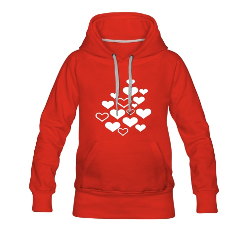 Hearts are forever!! - Women's Premium Hoodie