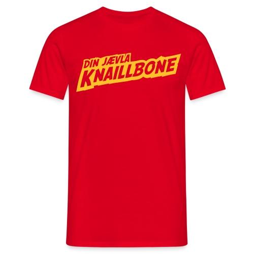 Din jævla knaillbone - T-skjorte for menn