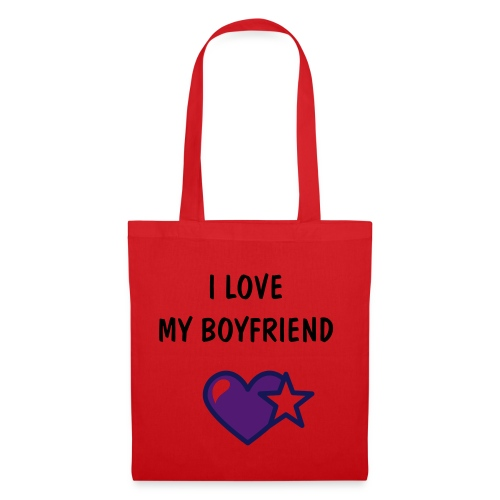 Love my boyfriend Bag - Tote Bag