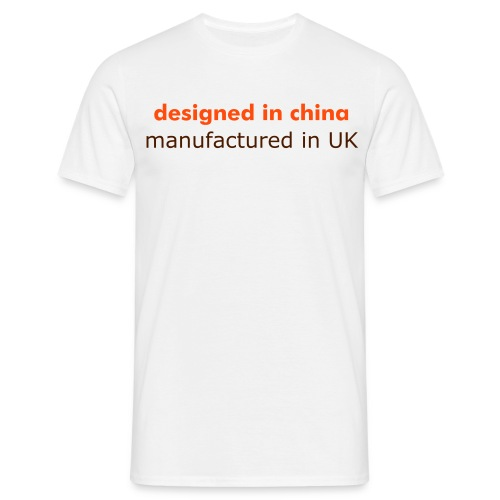 designed in china - Men's T-Shirt