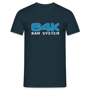 64K Blue - Men's T-Shirt