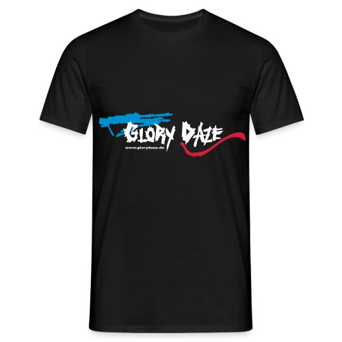 T-Shirt Boyz schwarz, Logo vorne - Männer T-Shirt