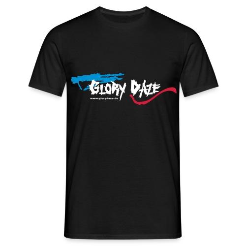 T-Shirt Boyz schwarz, Logo vorne und hinten - Männer T-Shirt