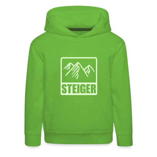 Pullover Kids Bergsteiger - Kinder Premium Hoodie