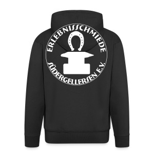 Schmiede-Bombenleger-Sweater - Männer Premium Kapuzenjacke