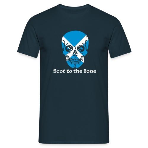 Scot to the bone - Men's T-Shirt