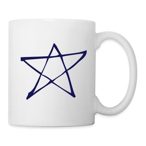 Star - Mug - White/Navy - Mug