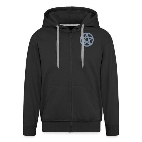 Proud - Hoody - Black/Silver - Men's Premium Hooded Jacket