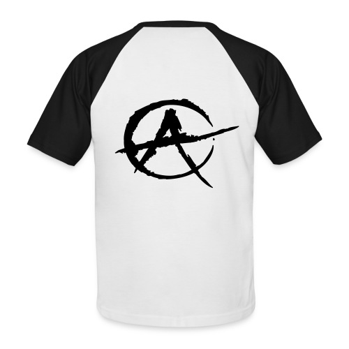 Anarchy - T-shirt baseball manches courtes Homme