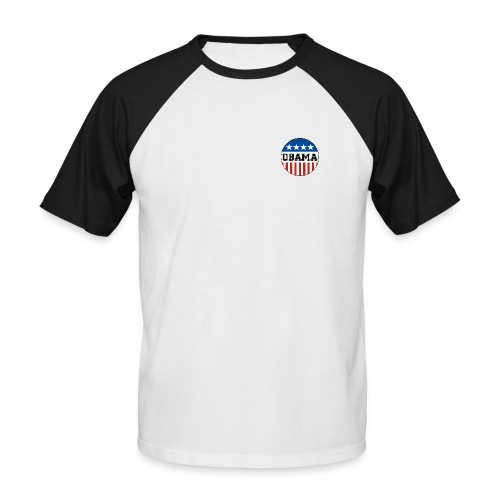 Obama - T-shirt baseball manches courtes Homme