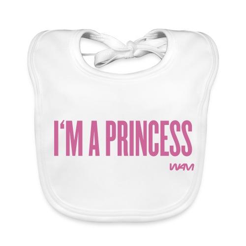I'm a princess - Baby Organic Bib
