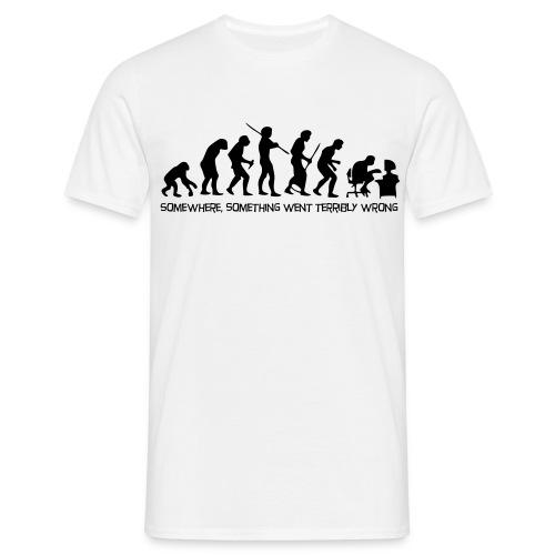 man evolution - T-shirt Homme