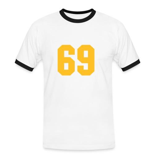 man evolution - T-shirt contrasté Homme