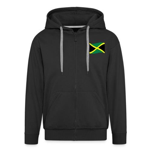 Jamaika-Tap - Männer Premium Kapuzenjacke