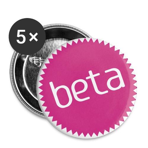 anstecker_beta - Buttons mittel 32 mm