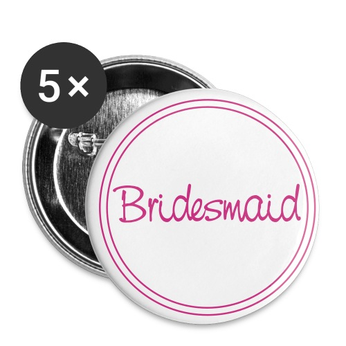 Button-groß bridesmaid - Buttons groß 56 mm