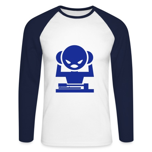 dj.saturne http://www.univer-dj.powa.fr - T-shirt baseball manches longues Homme
