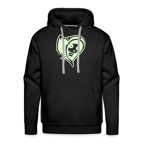 Grim Reaper, Hood (glow in the dark) - Men's Premium Hoodie