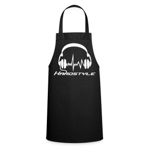 Hardstyle headphones - White print - Cooking Apron