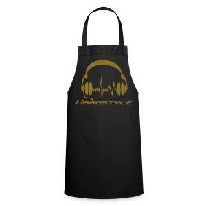 Hardstyle headphones - Gold print - Cooking Apron