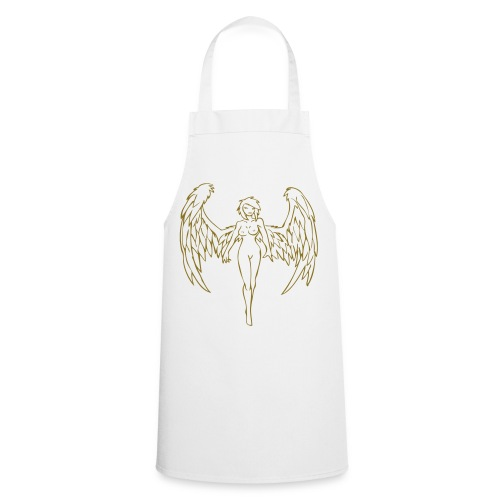 Angel - Gold print - Cooking Apron