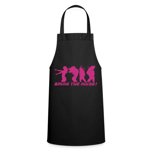 Bring the noise - Pink print - Cooking Apron