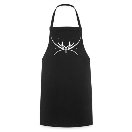 Tribal 2 - White print - Cooking Apron