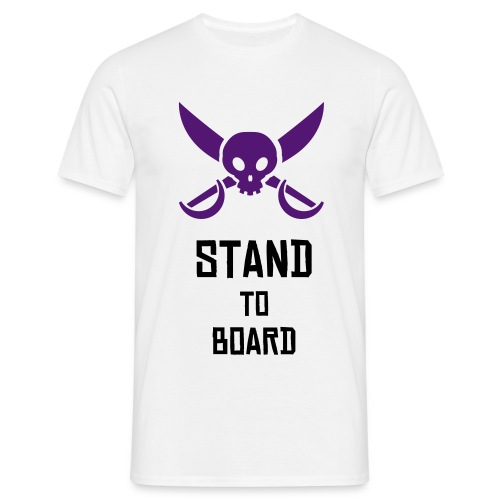 Stand to Board - T-shirt Homme