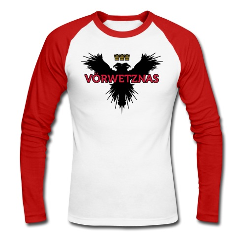 Voerwetznas1 - Männer Baseballshirt langarm