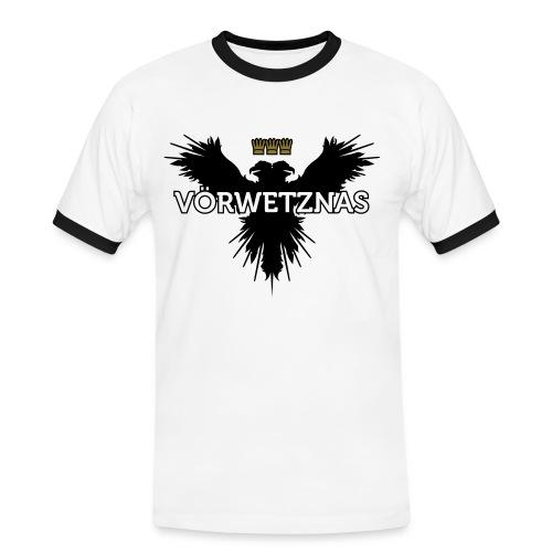 Voerwetznas1 - Männer Kontrast-T-Shirt