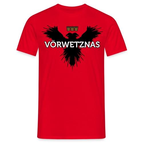 Voerwetznas1 - Männer T-Shirt