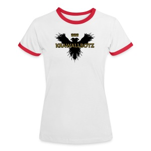 Krawallbotz - Frauen Kontrast-T-Shirt